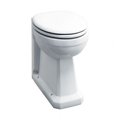 DTUK301 Traditional Raised Height Back-to-Wall Toilet